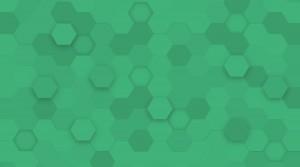 hexagon-background-green